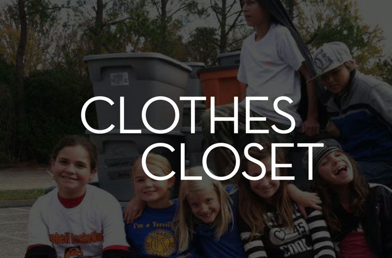 Clothes Closet Memorial Baptist