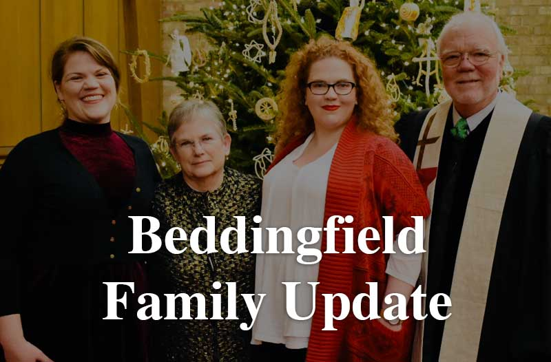 Beddingfield Family Update